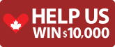 Donate in the month of June and Help us win $10,000!!!